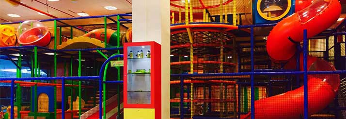 Indoor Play Area for Kids.